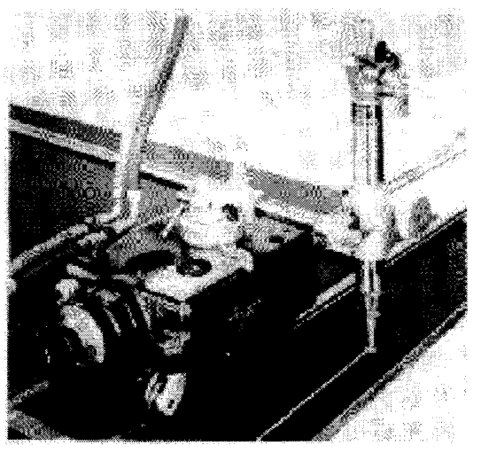 FIGURE 1 - Portable Machine Making Straight Cut