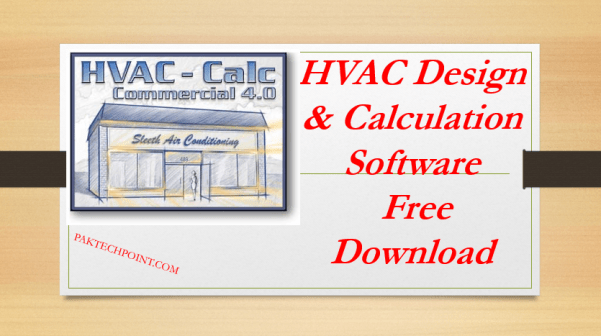 HVAC Design and Calculation Software Free Download | PAKTECHPOINT | Hvac Drawing Images Free Download |  | PAKTECHPOINT