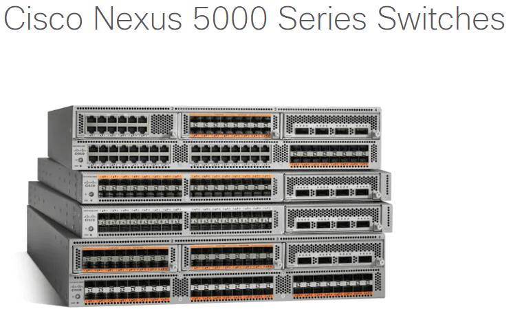 Nexus 5000 Series Specifications for Server Farm.
