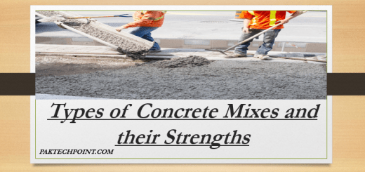 Types of Concrete Mixes and their Strengths