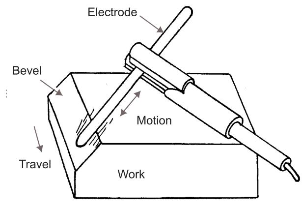 Figure 10 - Air Carbon Arc Beveling