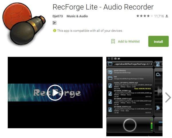 aplikasi perekam suara terbaik di android