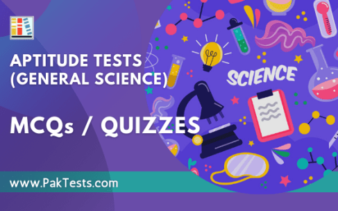 Aptitude Tests (General Science)