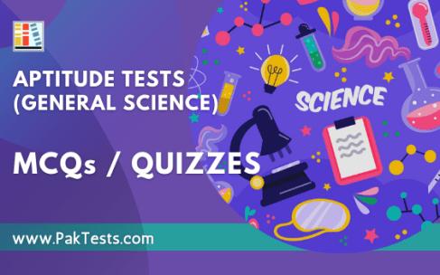 Aptitude Tests (General Science)