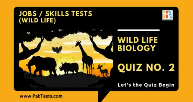 jobs-skills-tests-wild-life-biology-quiz-2