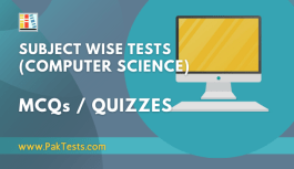 Subject Wise Quizzes (Computer Science)