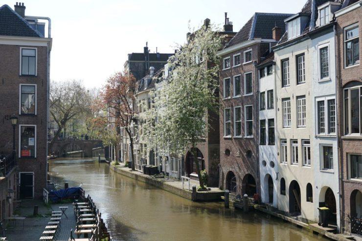 Utrecht on kaunis kanavakaupunki puolen tunnin päässä Amsterdamista