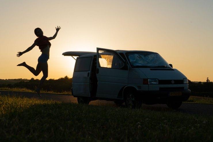 Heinäkuussa alkoi kesälomareissu Suomeen ja Norjaan. Tämä kuva on menomatkalta Tanskasta.