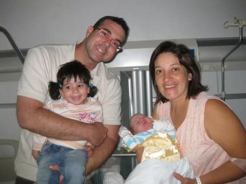 Naira, Vinyet, Tania y Paco