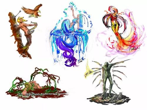 Wu Xing Elements