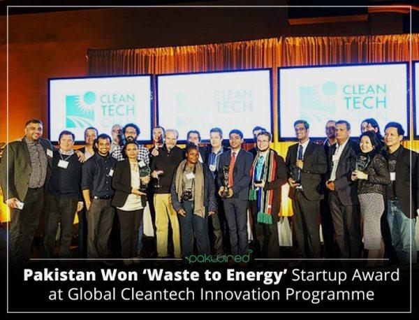 Pakistan Won 'Waste to Energy' Startup Award at Global ...