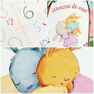 Ilustraciones del libro Abrazos para tí