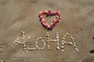 Aloha palabra hawahiana