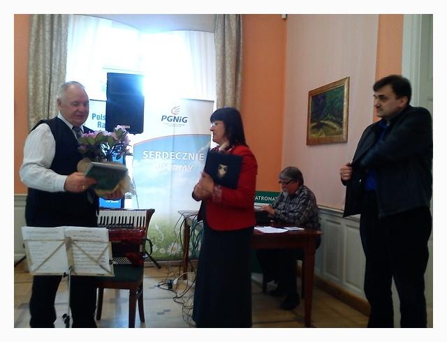 Cz.Lewicki,p.dyr.M.Syczewska,A.Dudarenko-akustyk,A.Kwaśniewski(Ośrodek Kultury wMaszewie)