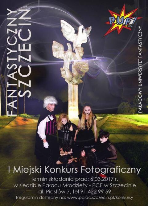 PUF - Konkurs fotograficzny - plakat www