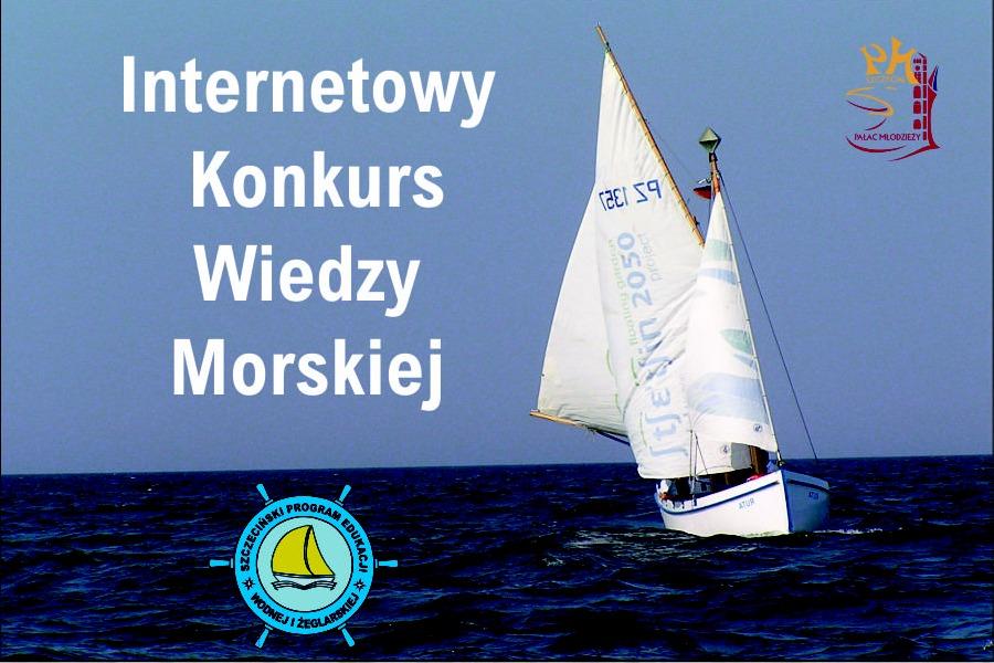 Logo konkursu Wiedzy Morskiej