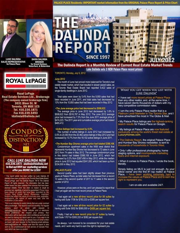 The Dalinda Report July 2012