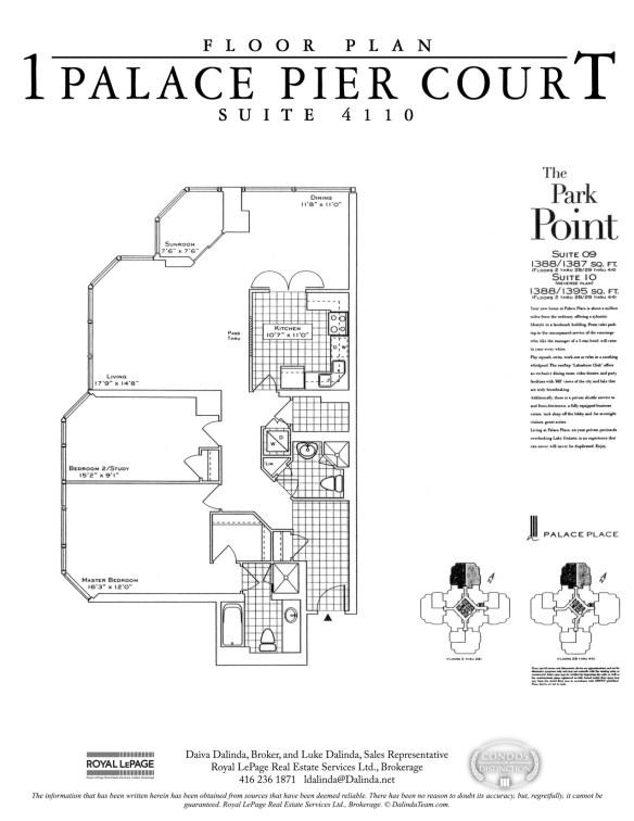 Palace Place 1 Palace Pier Court Suite 4110 Floor Plan