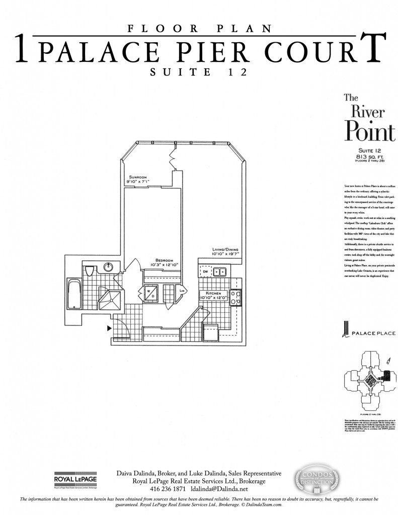 Palace Place Floor Plans Palace Place 1 Palace Pier Court