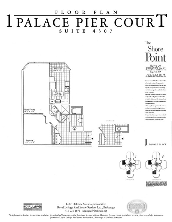 Palace Place 4307 Floor Plan