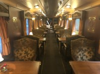 Dining Car on the Gran Lujo