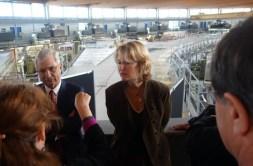 Visite C. Bartolone à Saclay