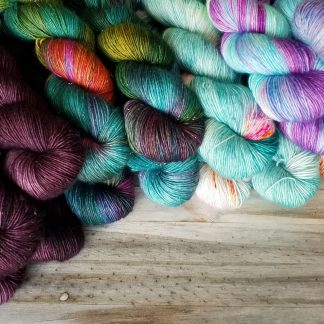 Single Ply Merino Glitter