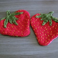 Erdbeeren in Übergröße