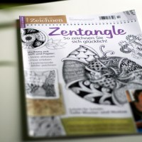 Zentangle - meditatives Gewimmel.