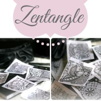 Tingle-Tangle-Palan: ein kleines Zentangle-Update