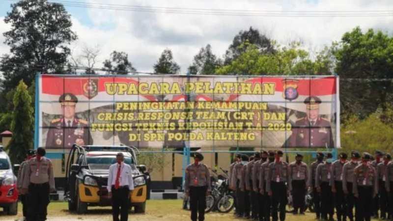 Kapolda Kalteng Buka Pelatihan Tupoksi Kepolisian Di SPN
