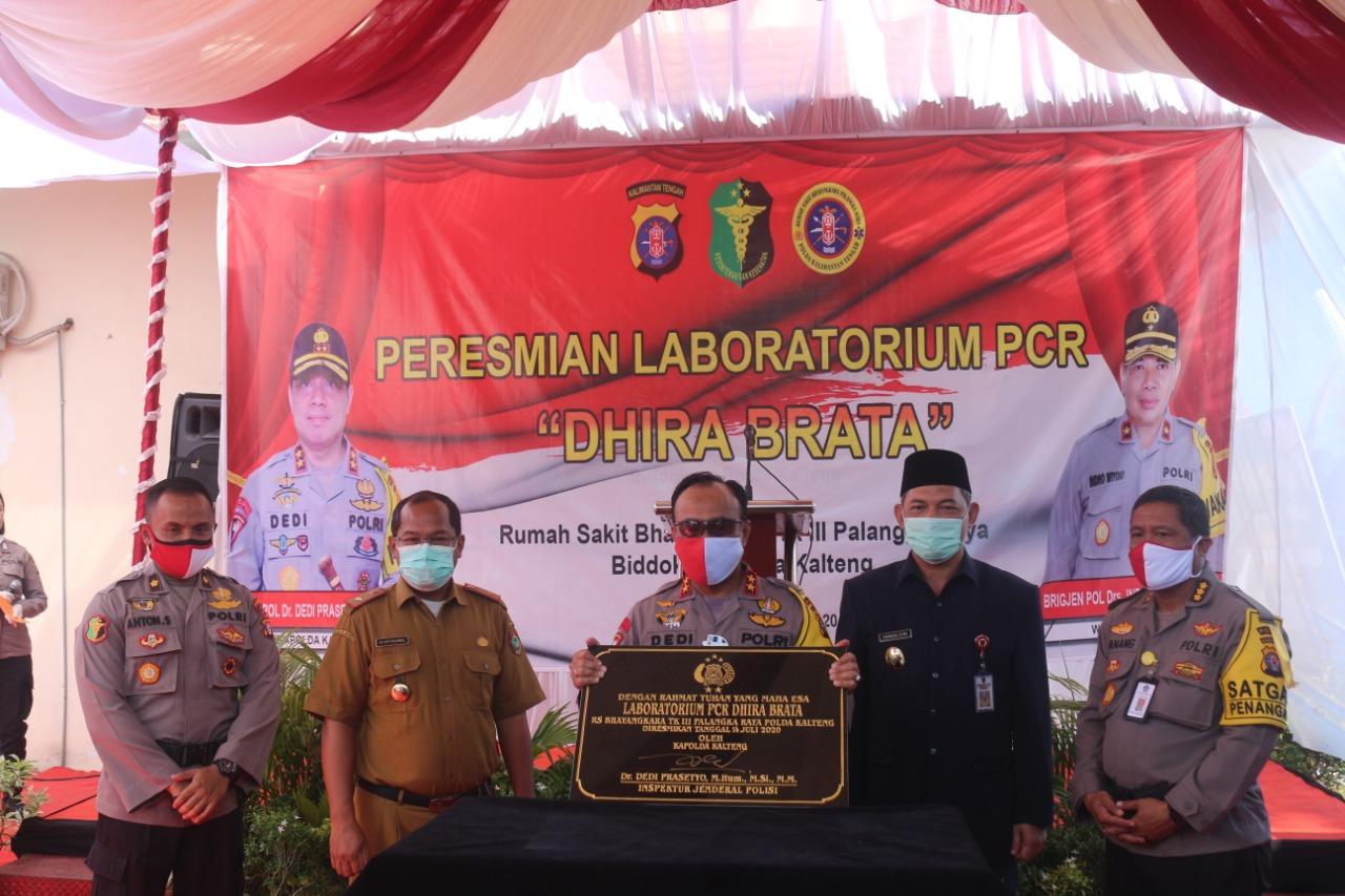 Resmi Laboratorium CPR RS Bhayangkara TK. III dihadiri Sekda Prov. Kalteng