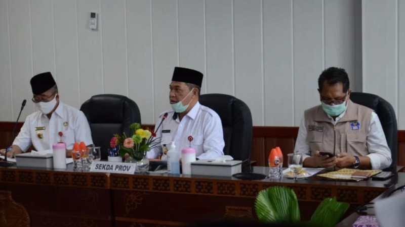 Sekda Kalteng Pimpin Rapat Persiapan Kunjungan Menteri Dalam Negeri