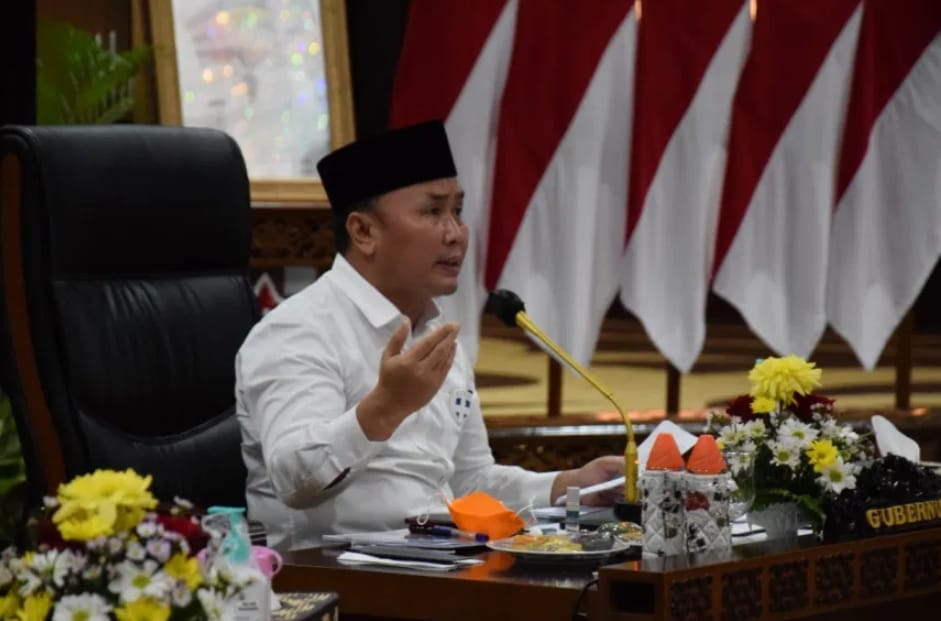 Rakor Gugus Tugas Reforma Agraria, Dibuka Gubernur Kalteng Sugianto Sabran