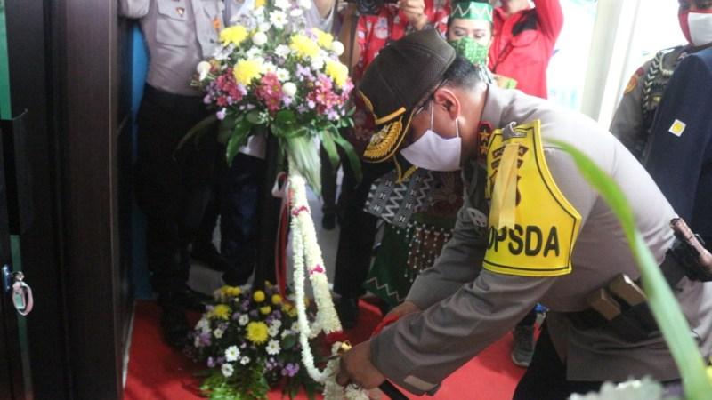 Dhira Brata Peduli Covid-19, Laboratorium PCR Pertama Kali se-Indonesia diresmikan.