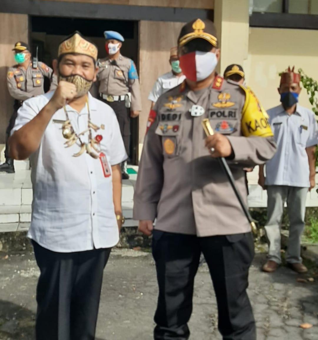 Jaga Situs Budaya Ini Kata Kapolda Kalteng Saat Kunjungi Museum Balanga