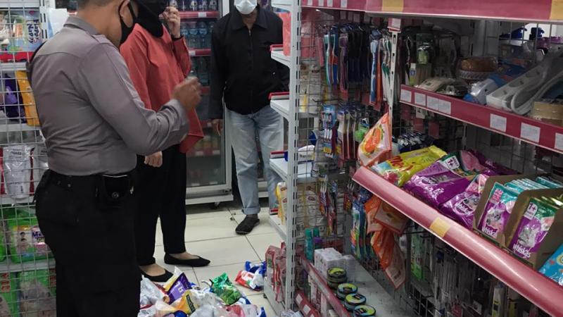 Kasus Pencurian Alfamart Di jalan G.Obos Ditangani Polsek Pahandut