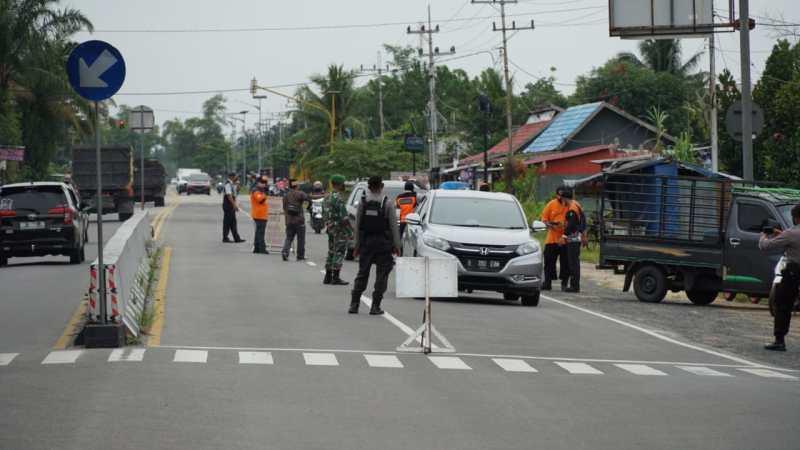 Operasi Yustisi Razia Masker Satgas Covid-19 Kota Palangka Raya Tindak 21 Pelanggar Prokes