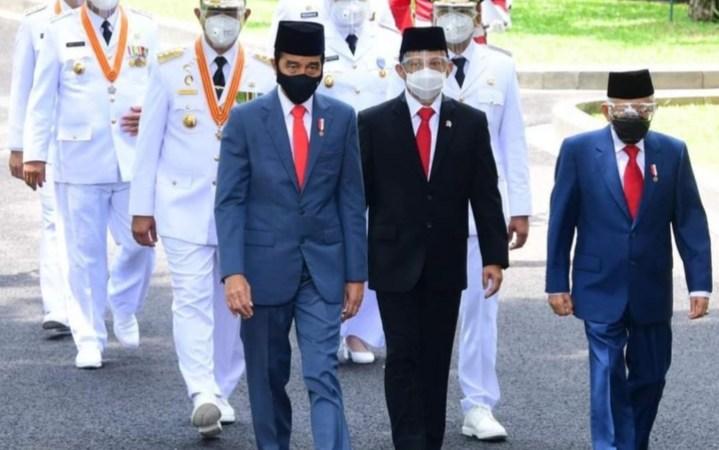 Presiden RI Joko Widodo Resmi Lantik Gubernur Sumbar, Kepri, dan Bengkulu