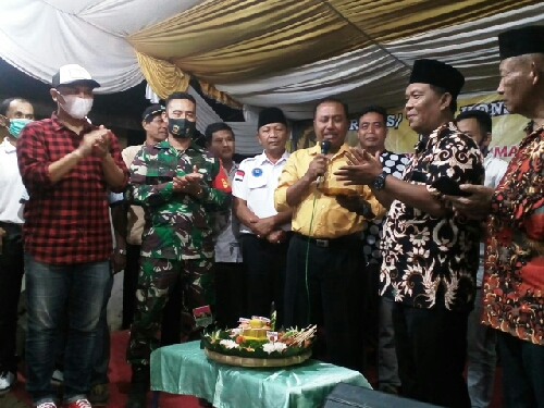 Reses Berjalan Lancar, Ilhamudin, Terimakasih Drs. Rahman Telah Tampung Aspirasi Warga Klambir V Kampung
