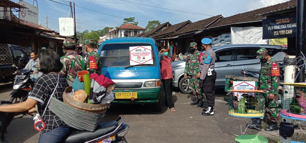 PPKM Mikro Sasar Pasar Kebonluak, Musuk