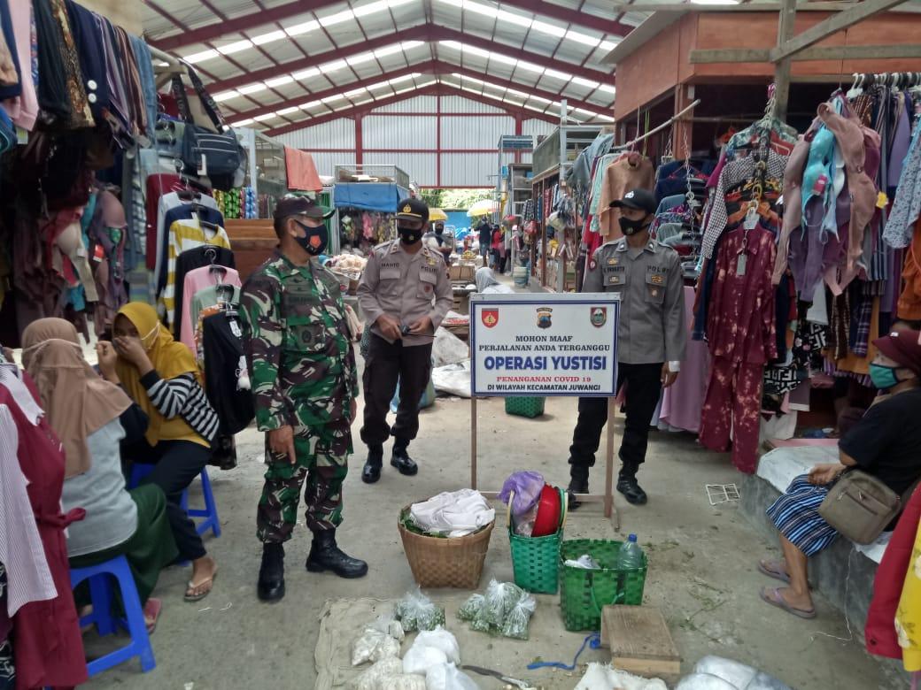 Patroli Yustisi Sasar Pasar Tradisional Juwangi