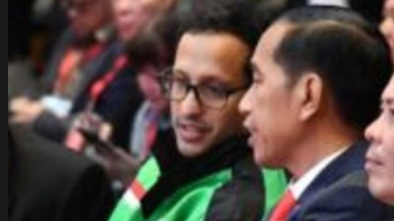 Jokowi Lantik Lagi Nadiem sebagai Menteri, Ini alasannya