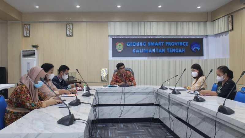 Kepala Dinas Kominfo Kalteng Buka Secara Langsung Bimbingan Teknis