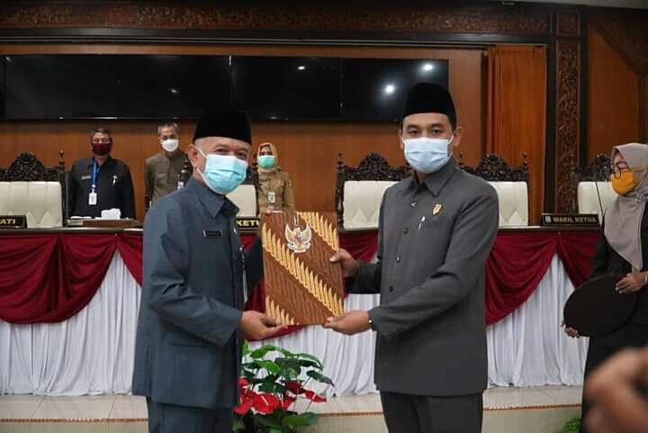 DPRD Jepara Terima LKPJ Bupati Tahun Anggaran 2020