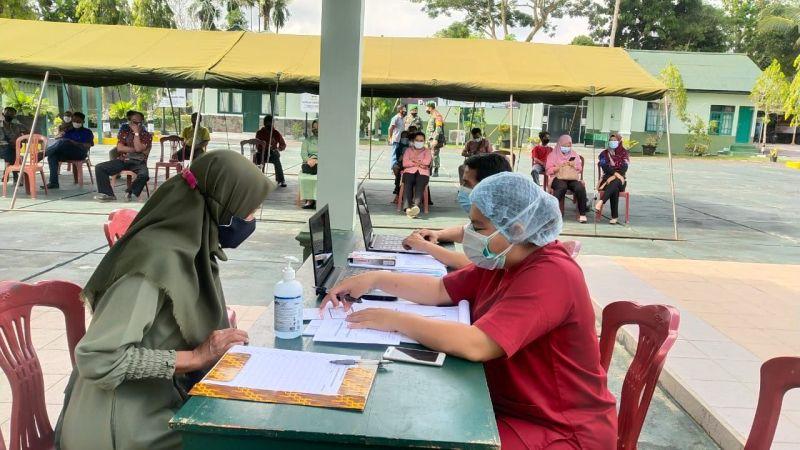 Kodim Pangkalan Bun Gelar Kegiatan Vaksinasi Untuk KBT