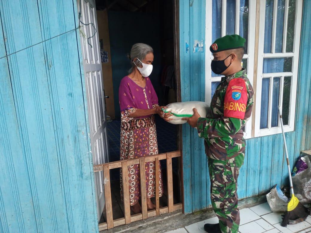 Serda Dedy Wardani Berikan Bantuan Sembako Kepada Warga Binaannya