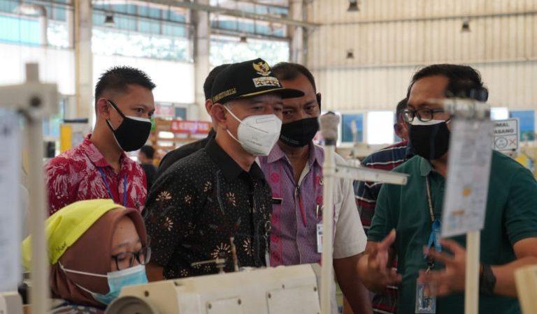 Bupati Jepara Pastikan Penerapan PPKM Darurat, Monitoring Perusahaan