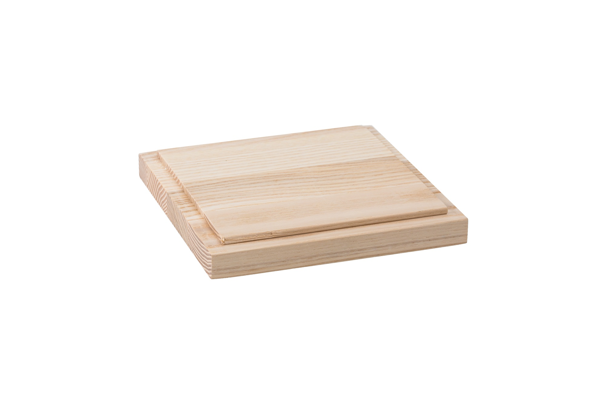 Wooden lid for L box