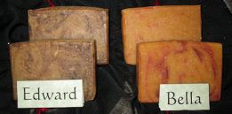 Edward & Bella Soaps by Sunset Pines Naturals
